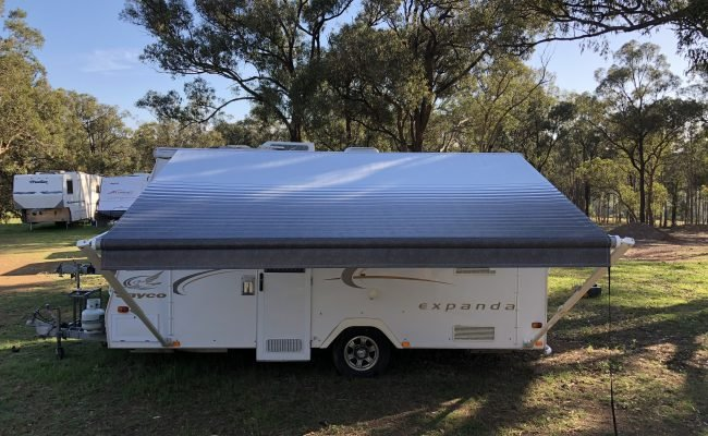 Custom Roll Out Awning Skin 2