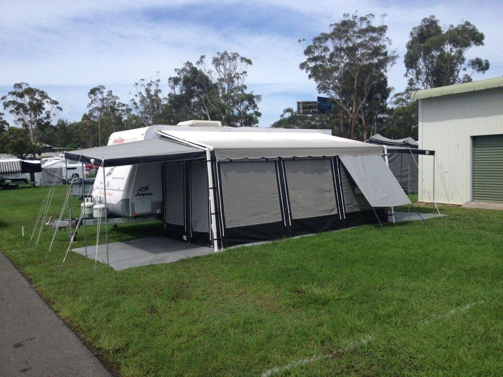 Caravans Rollout Awnings Holiday Annexes