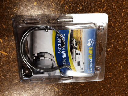 Roll Out Awning Rope Clips